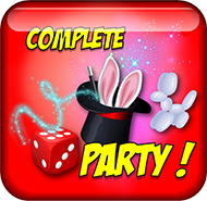 Complete party icon