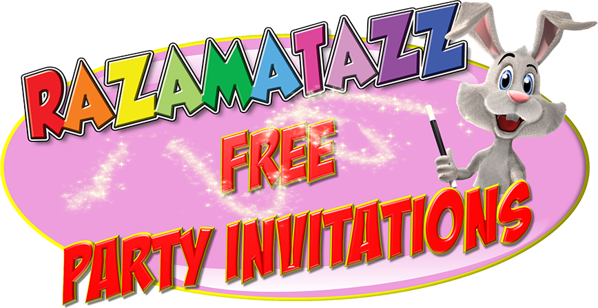 Free childrens party invitations to print