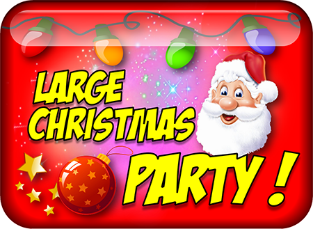 Large Christmas party icon