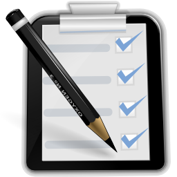 Shopping list reminder icon