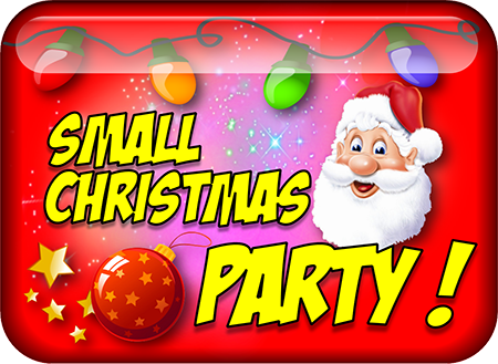 Small Christmas party icon