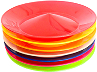 Stack of spinning plates icon